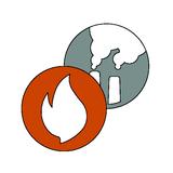 Feuer + Rauch (+ ggf. Schall)